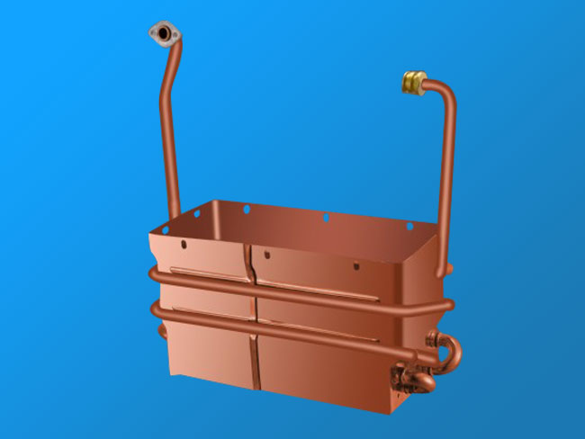 W12L-B anaerobic copper heat exchanger